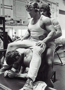 Arnold Training Calves
