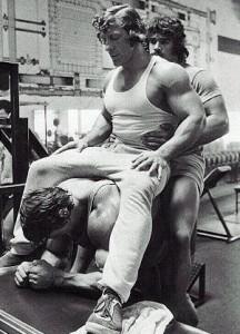 Arnold Training Calves